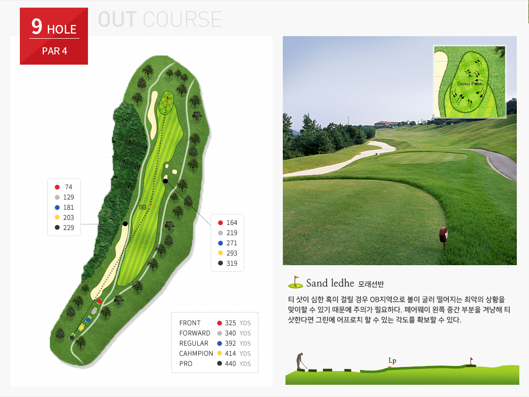 OUT COURSE- 9 HOLE